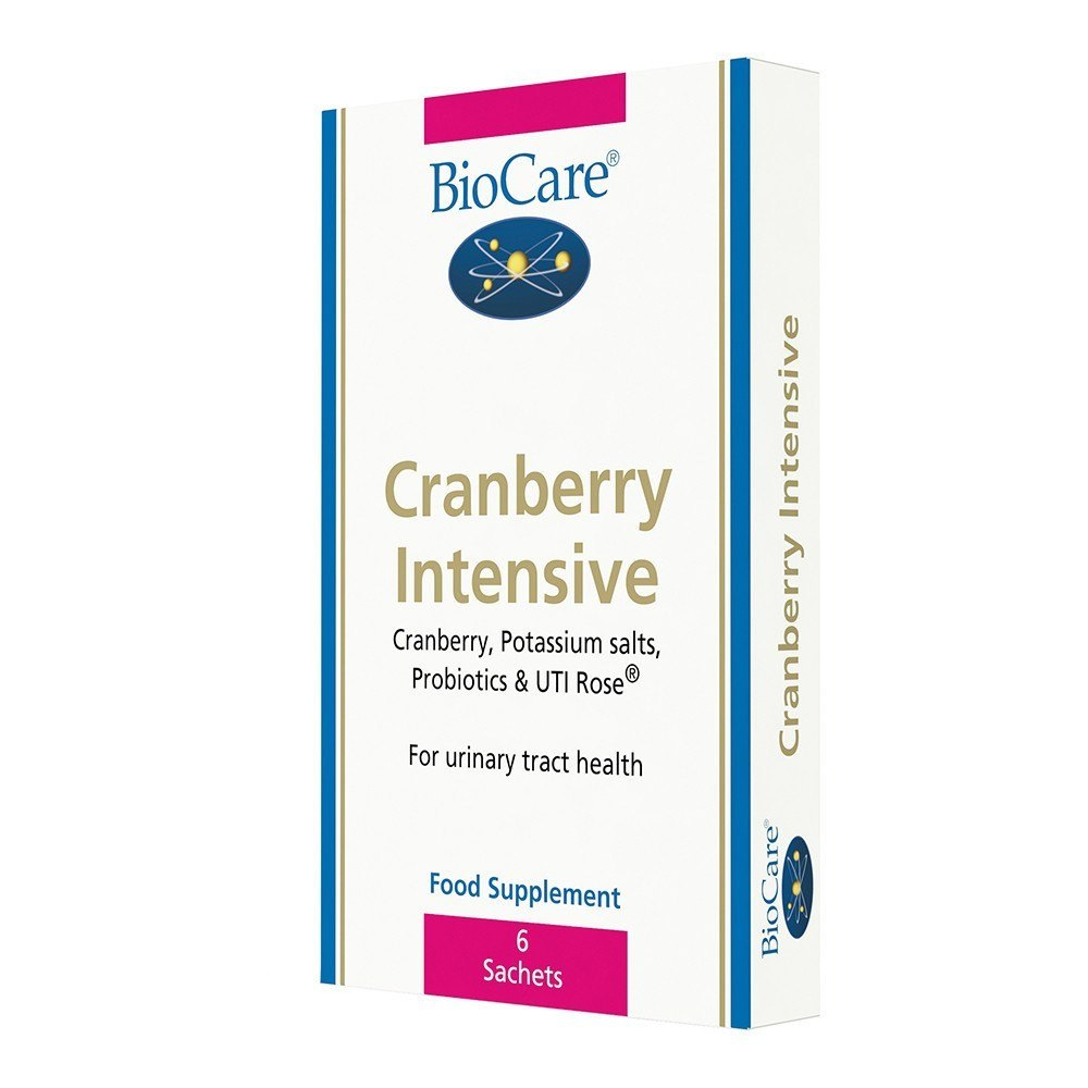 BioCare Cranberry Intensive Complex 6 Sachets - Lifestyle Labs