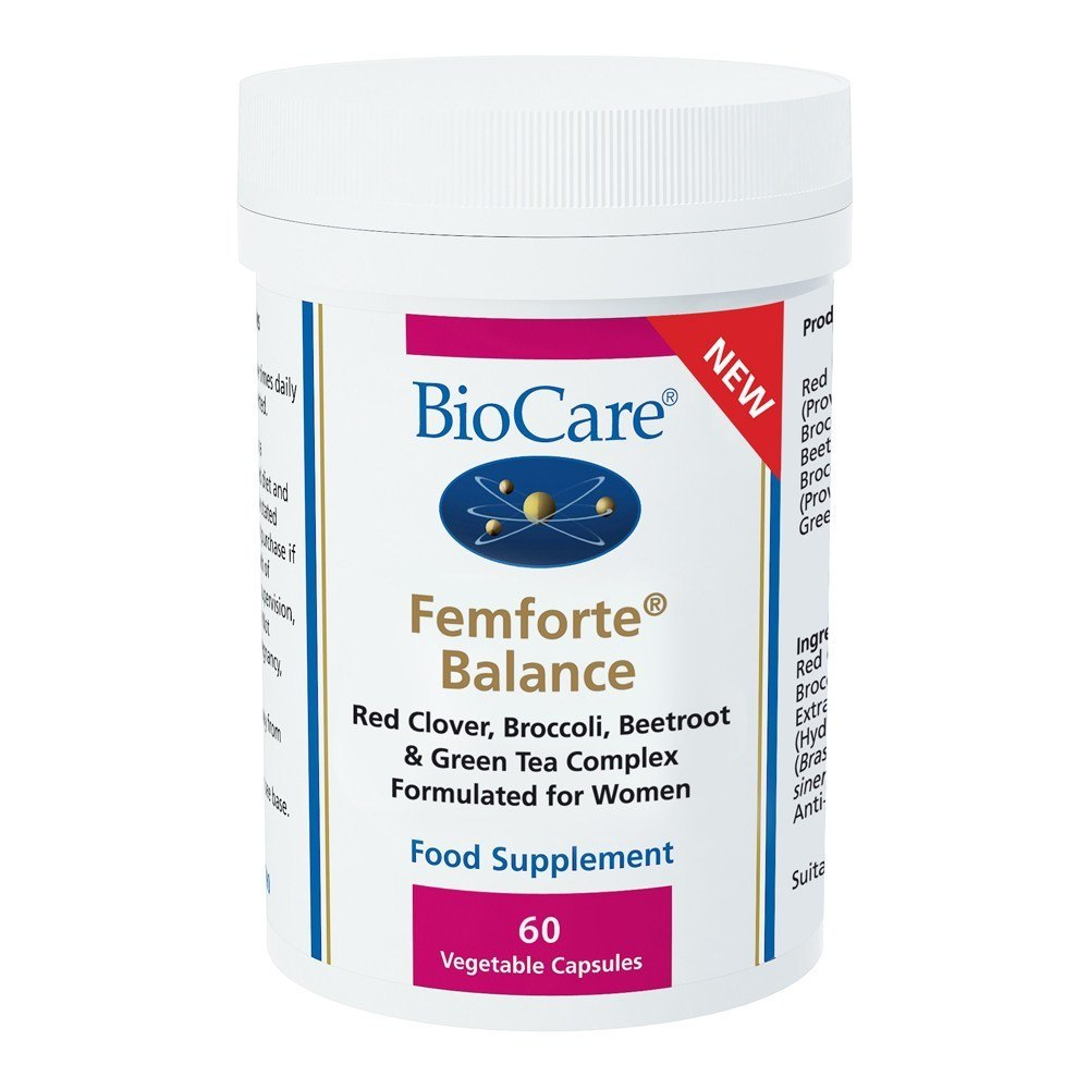 BioCare Femforte® Balance Womens Health 60 Capsules - Lifestyle Labs