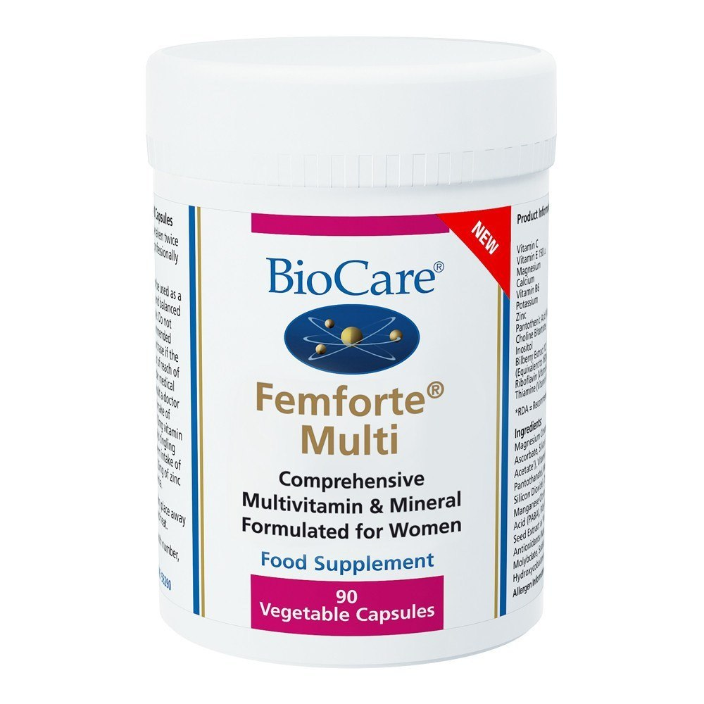 BioCare Femforte Womens Multinutrient 90 Capsules - Lifestyle Labs