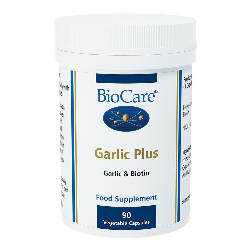 BioCare Garlic Plus 400 mg 90 Capsules - Lifestyle Labs