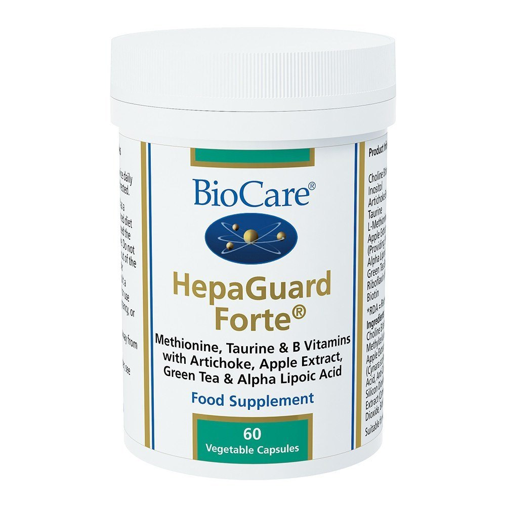 BioCare HepaGuard Forte 60 Capsules - Lifestyle Labs