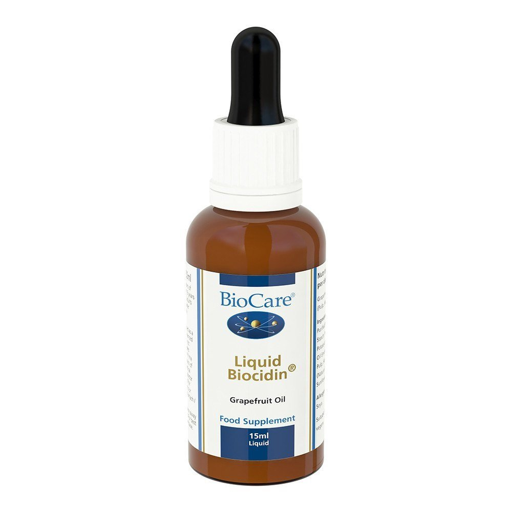 BioCare Liquid Biocidin® Grapefruit Seed Extract 15 ml Liquid - Lifestyle Labs