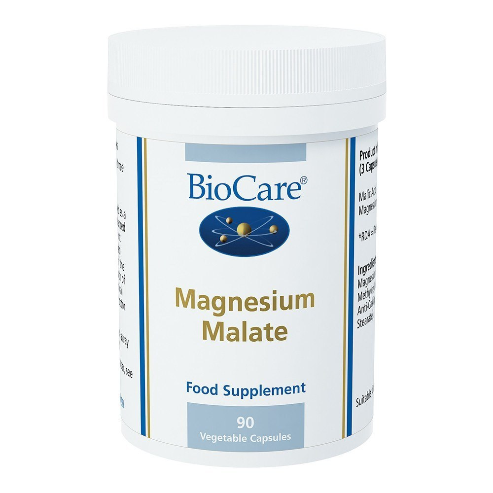 BioCare Magnesium Malate 116 mg 90 Capsules - Lifestyle Labs