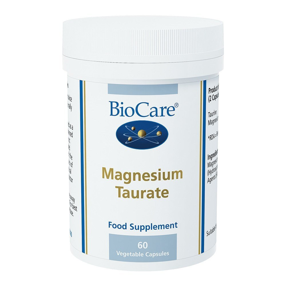 BioCare Magnesium Taurate 146 mg 60 Capsules - Lifestyle Labs