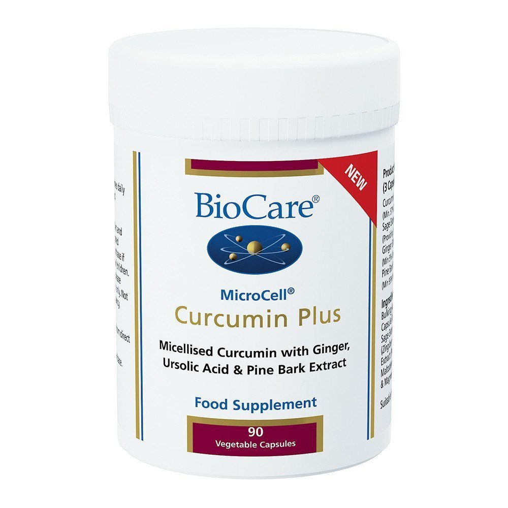 BioCare MicroCell® Curcumin Plus 270 mg 90 Capsules - Lifestyle Labs