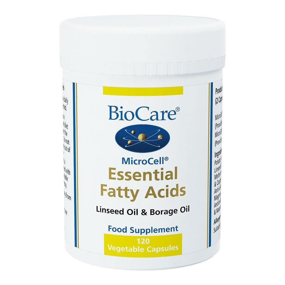 BioCare MicroCell® Essential Fatty Acids 120 Capsules - Lifestyle Labs