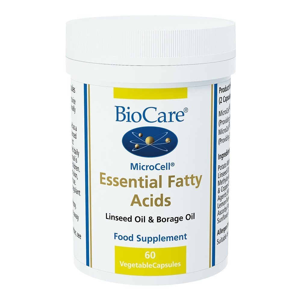 BioCare MicroCell® Essential Fatty Acids 60 Capsules - Lifestyle Labs