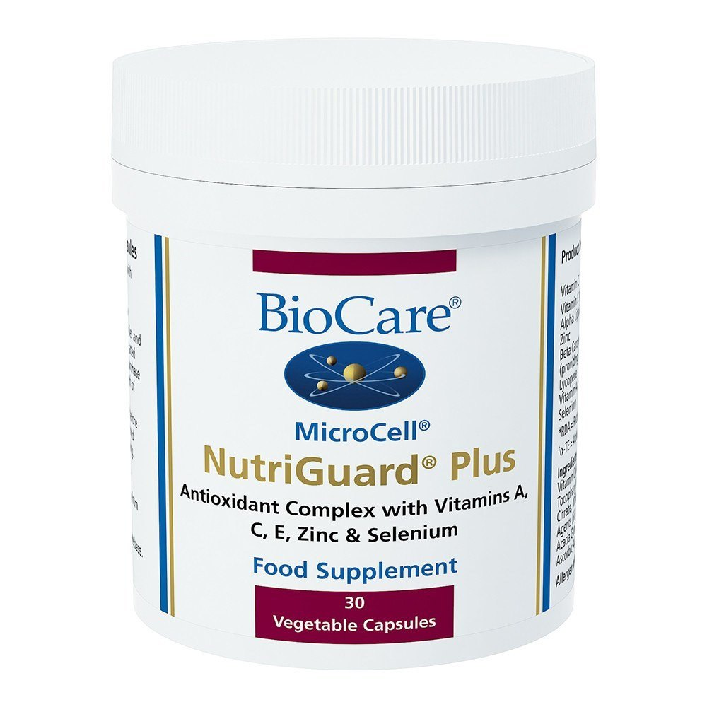 BioCare MicroCell® NutriGuard® Plus Antioxidant Complex 30 Capsules - Lifestyle Labs