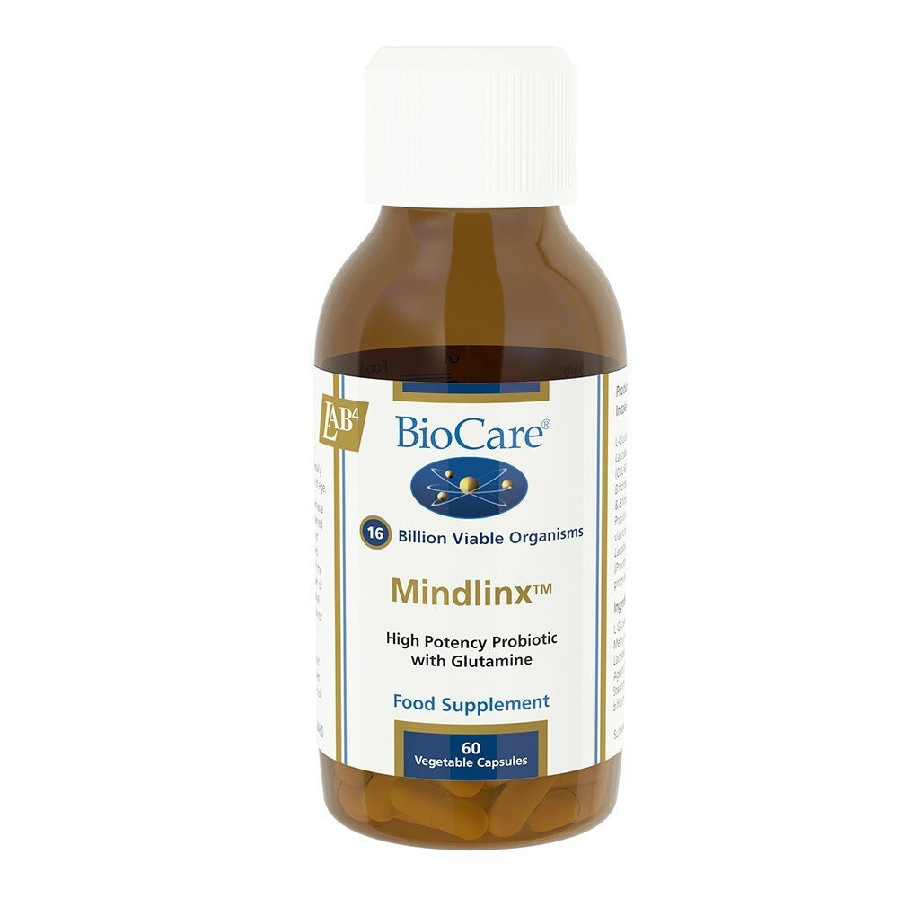 BioCare Mindlinx® Kids Probiotic 16 Billion 60 Capsules - Lifestyle Labs