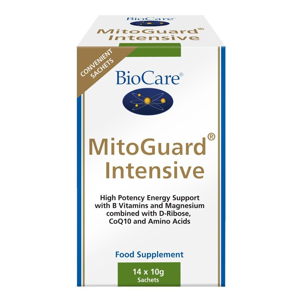 BioCare MitoGuard Intensive Energy Complex 14 Sachets - Lifestyle Labs