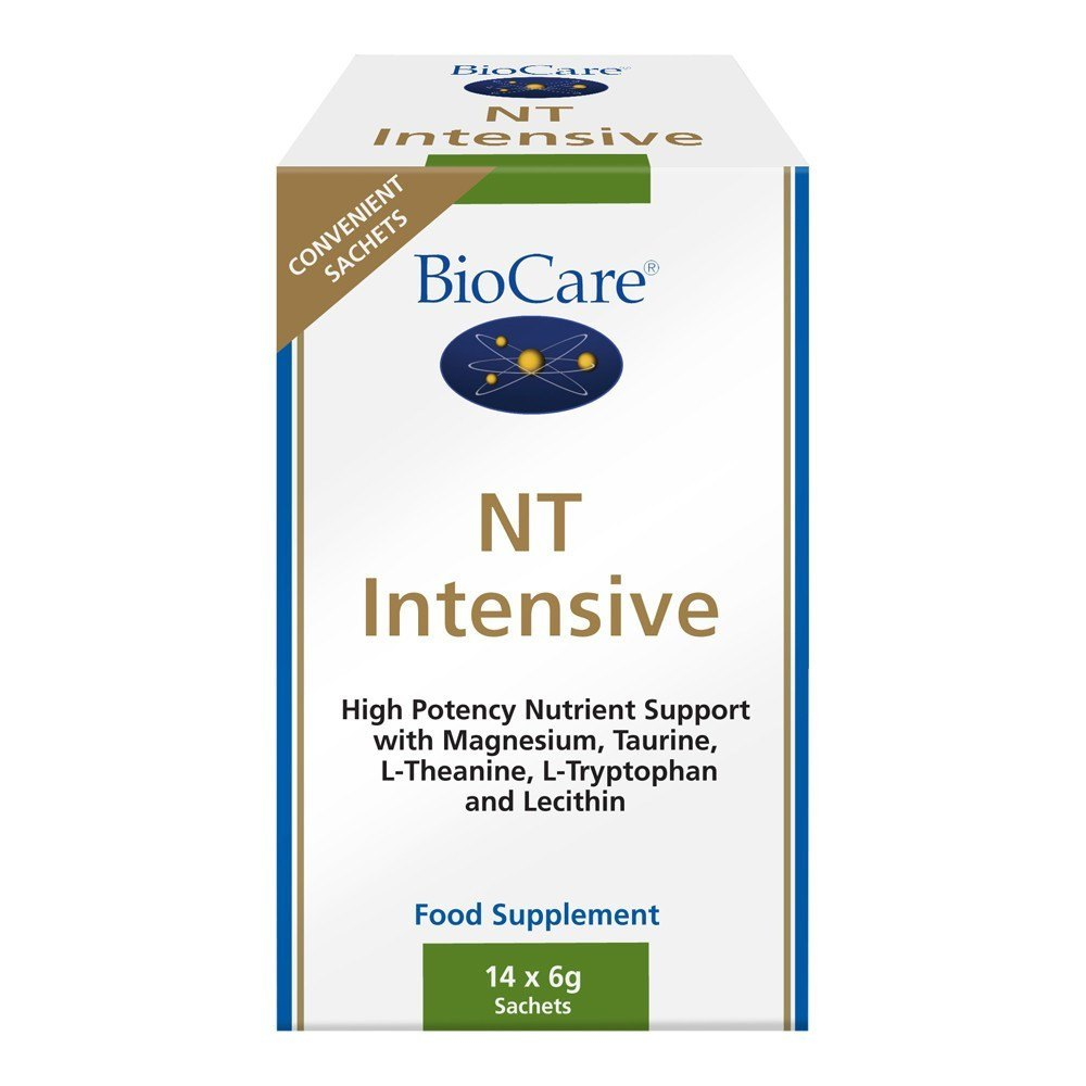BioCare NT Intensive Stress Management 14 Sachets - Lifestyle Labs