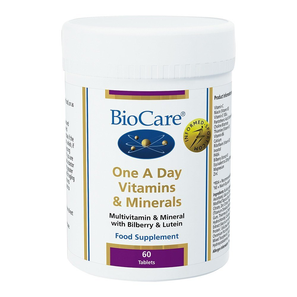 BioCare One A Day Multinutrient 60 Tablets - Lifestyle Labs