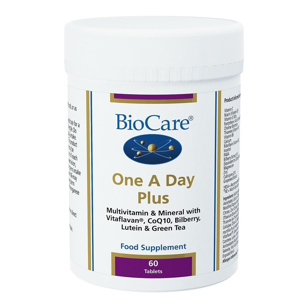 BioCare One A Day Plus Multinutrient 60 Tablets - Lifestyle Labs