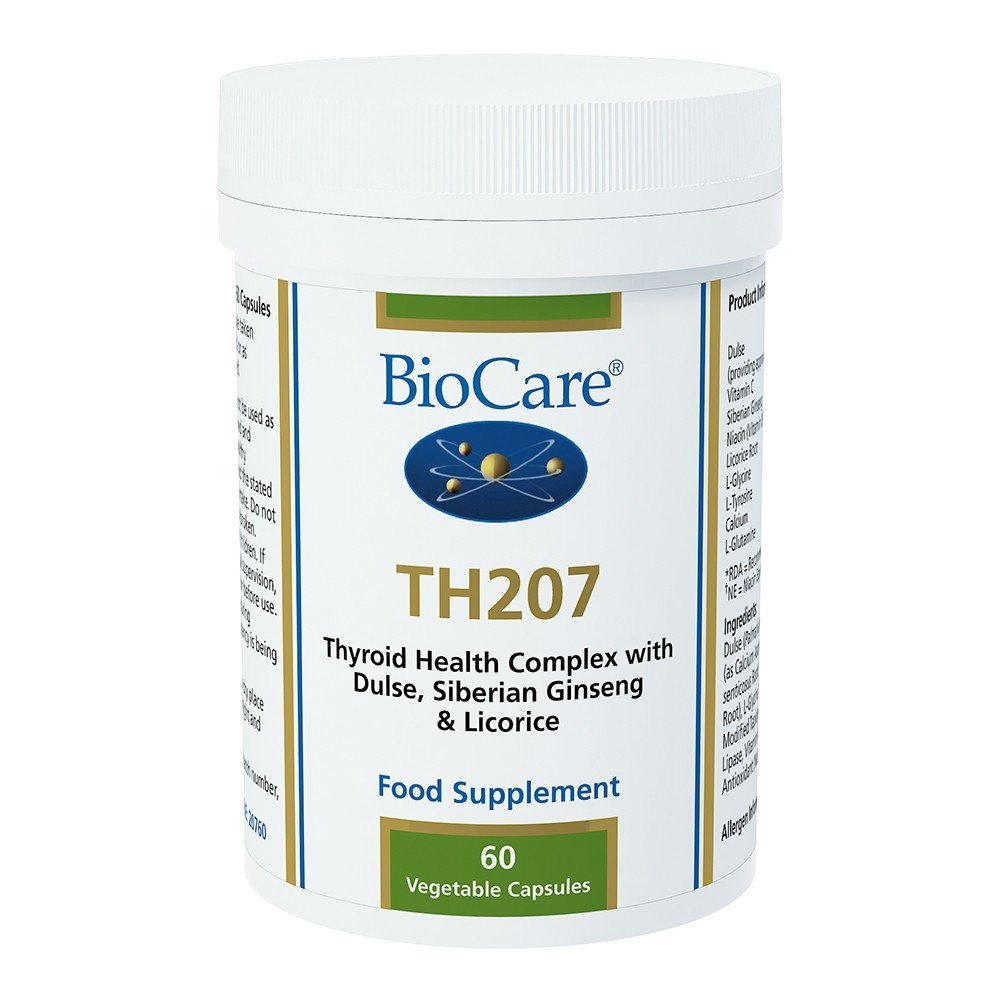 BioCare TH 207 Thyroid Support 60 Capsules - Lifestyle Labs