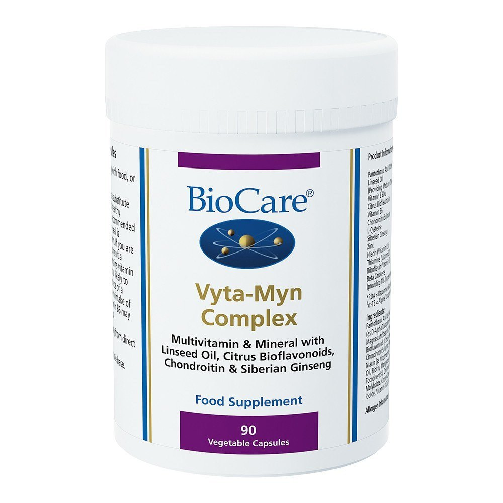 BioCare VytaMyn Complex Multinutrient 90 Capsules - Lifestyle Labs