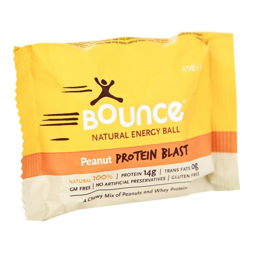Bounce Peanut 'Protein Blast' 49 g Bar - Lifestyle Labs