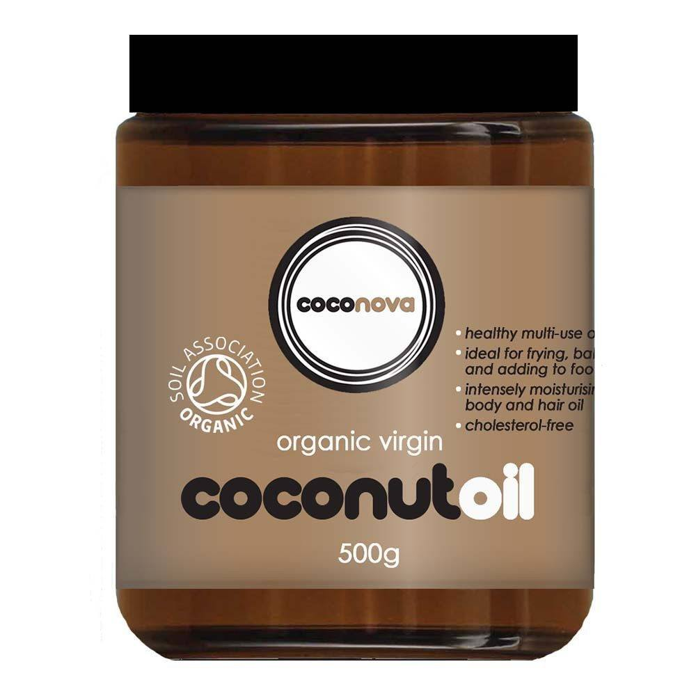 Coconova Organic Raw Virgin Coconut Oil 500 g Liquid - Lifestyle Labs