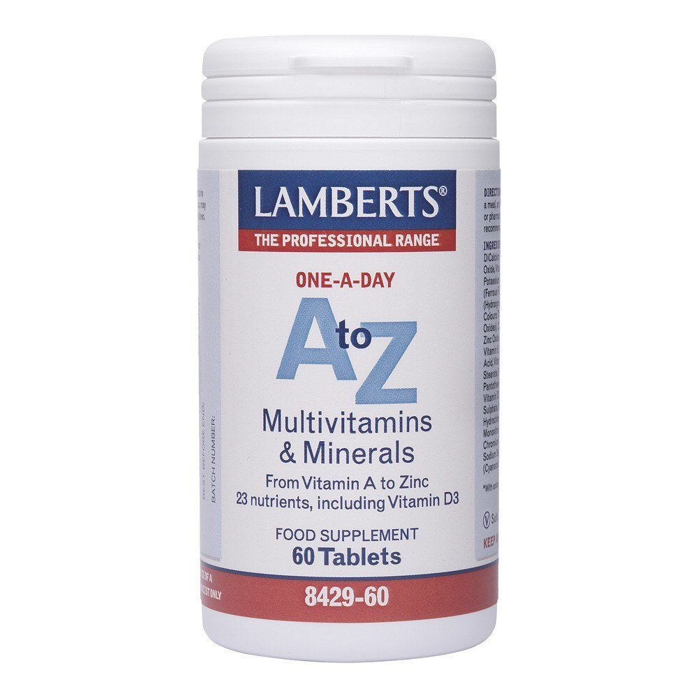 Lamberts A-Z Multi 60 Tablets - Lifestyle Labs