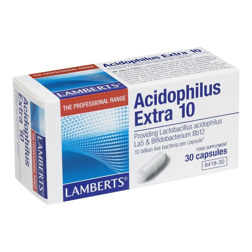 Lamberts Acidophilus Extra 10 Billion 30 Capsules - Lifestyle Labs
