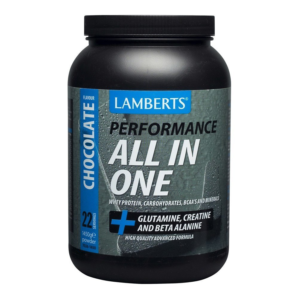 Lamberts All-In-One Chocolate Flavour Sports Shake 1450 g Powder - Lifestyle Labs