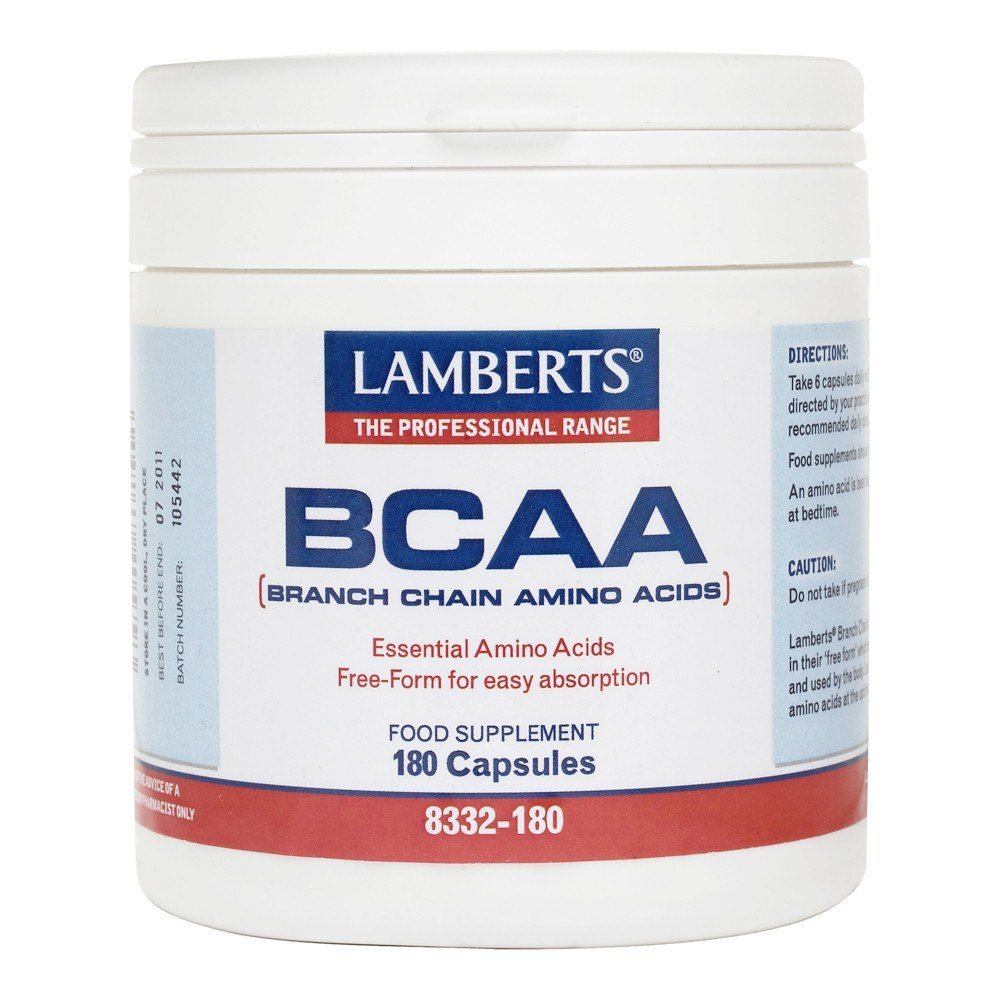 Lamberts BCAA 180 Capsules - Lifestyle Labs