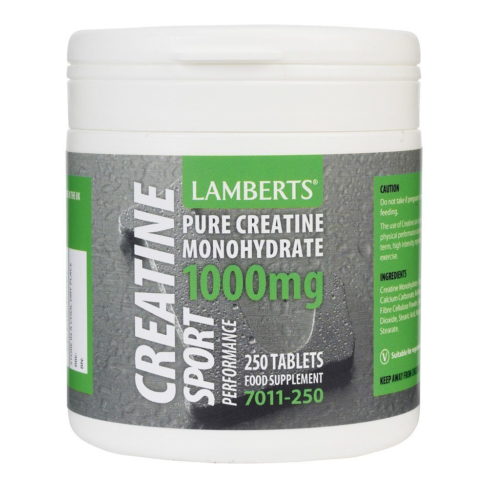 Lamberts Creatine 1000 mg 250 Tablets - Lifestyle Labs