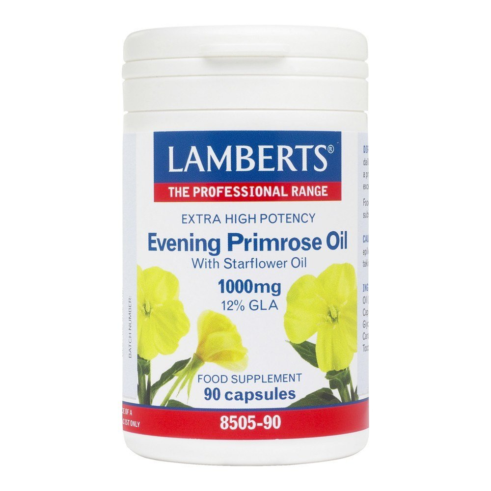 Lamberts Evening Primrose Oil with Starflower Oil 1000 mg 90 Capsules - Lifestyle Labs