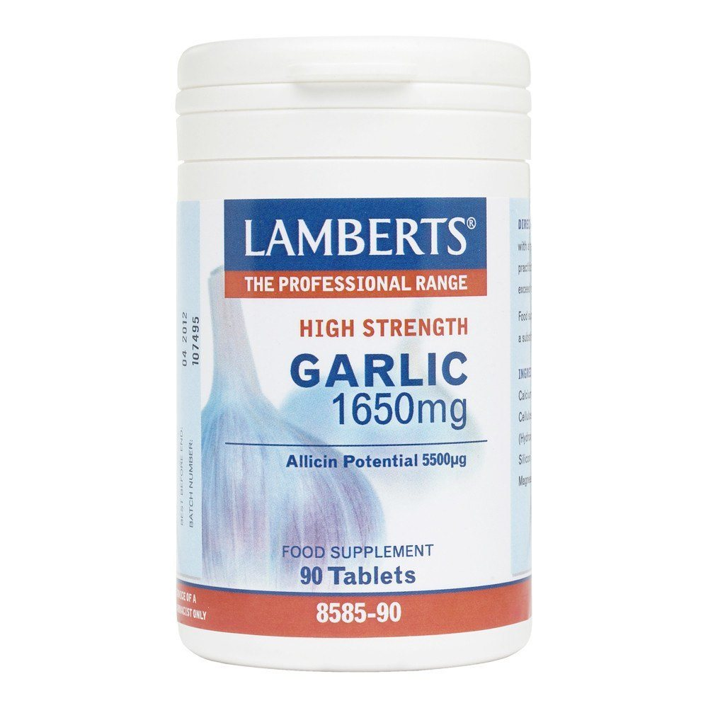 Lamberts Garlic 1650 mg 90 Tablets - Lifestyle Labs