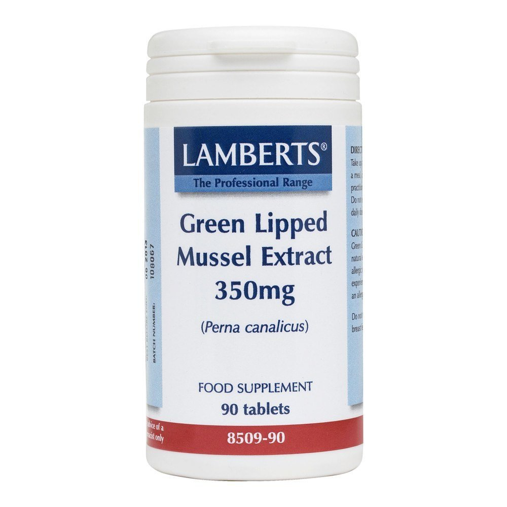 Lamberts Green Lipped Mussel Extract 350 mg 90 Tablets - Lifestyle Labs