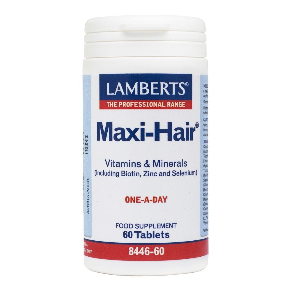 Lamberts Maxi-Hair 60 Tablets - Lifestyle Labs