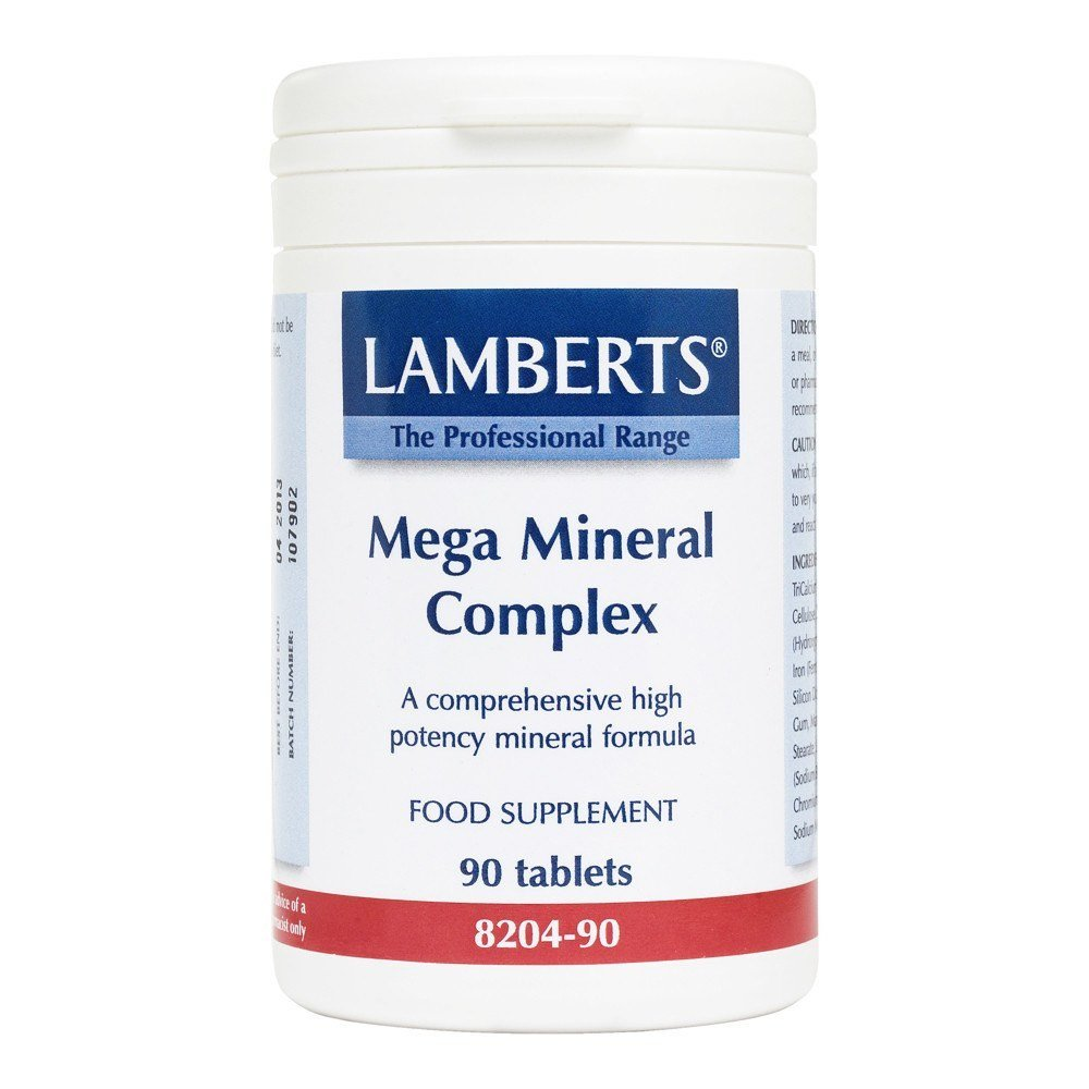 Lamberts Mega Mineral Complex 90 Tablets - Lifestyle Labs