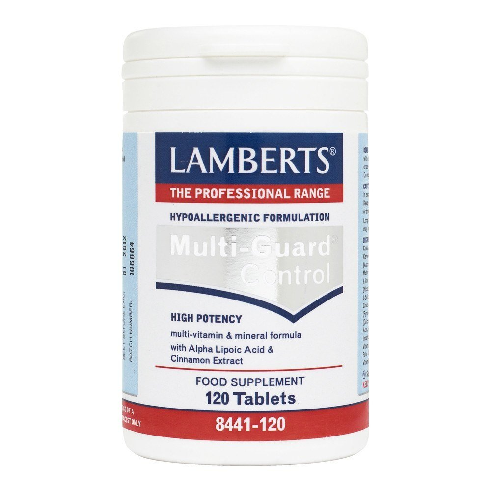 Lamberts Multi-Guard Control 120 Tablets - Lifestyle Labs