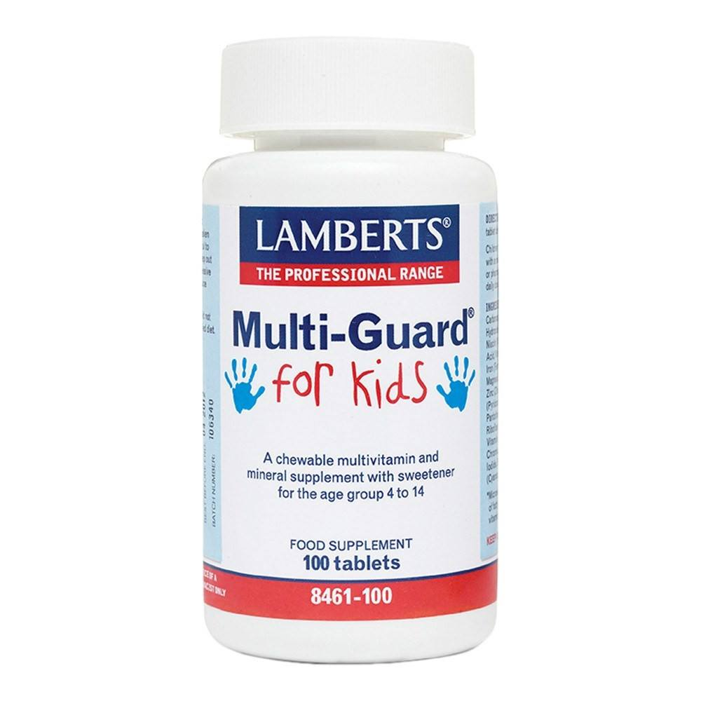Lamberts Multi-Guard for Kids 100 Tablets - Lifestyle Labs