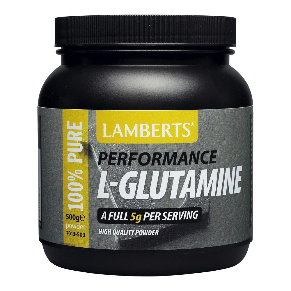 Lamberts Performance L-Glutamine 5000 mg 500 g Powder - Lifestyle Labs