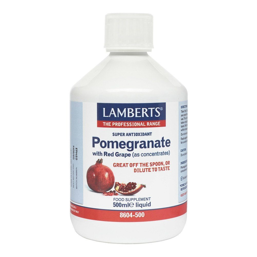 Lamberts Pomegranate Concentrate 500 ml Liquid - Lifestyle Labs