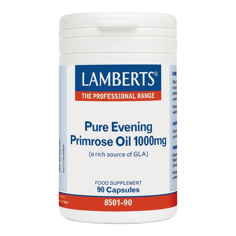 Lamberts Pure Evening Primrose Oil 1000 mg 90 Capsules - Lifestyle Labs