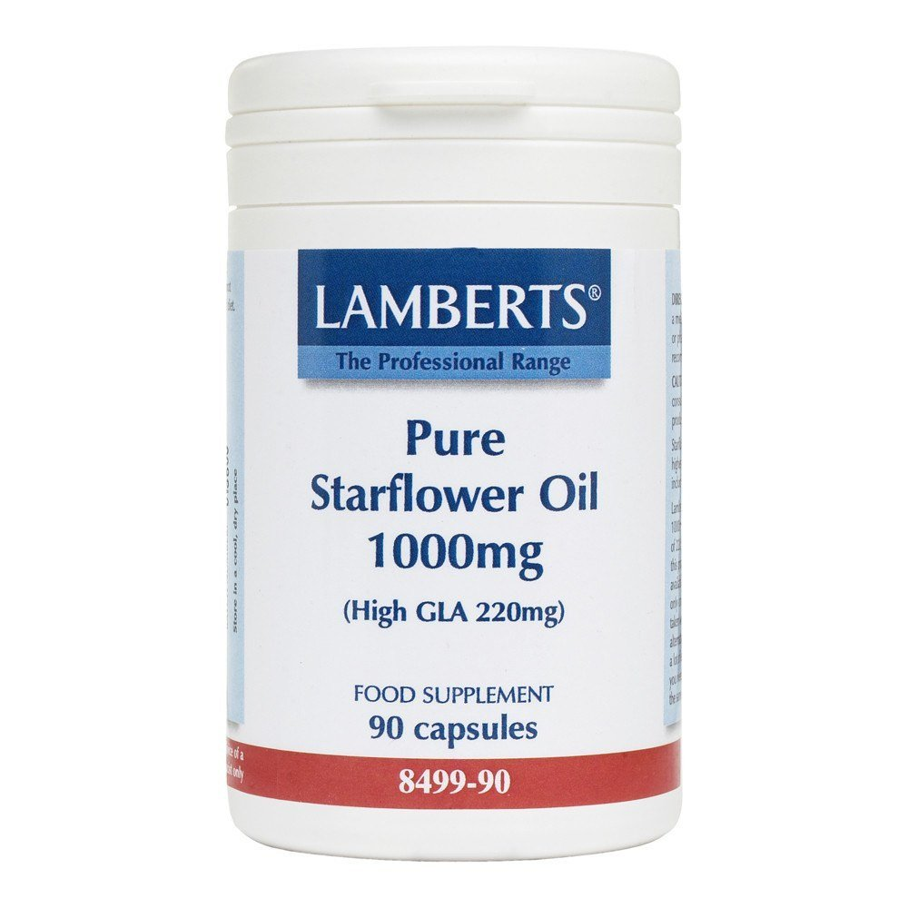 Lamberts Pure Starflower 1000 mg 90 Capsules - Lifestyle Labs