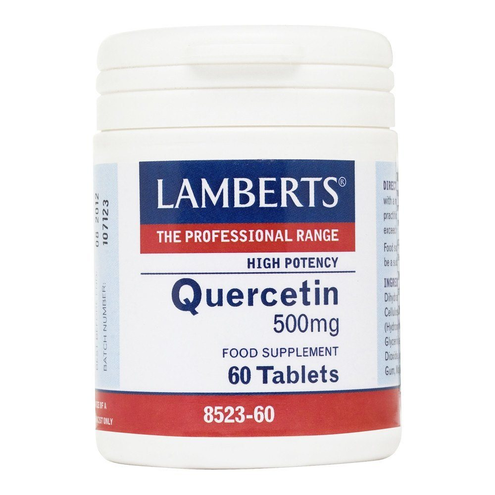 Lamberts Quercetin 500 mg 60 Tablets - Lifestyle Labs