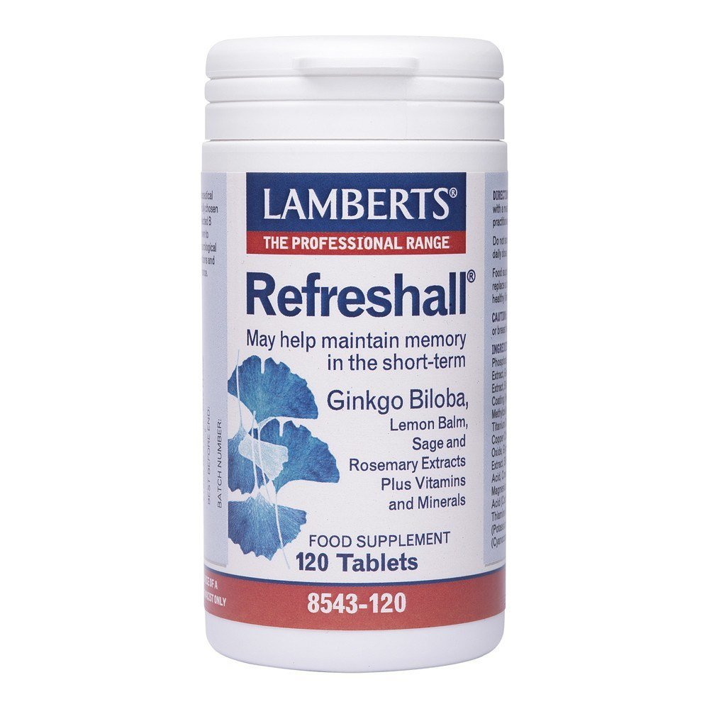 Lamberts Refreshall® Ginkgo 6000 mg120 Tablets - Lifestyle Labs