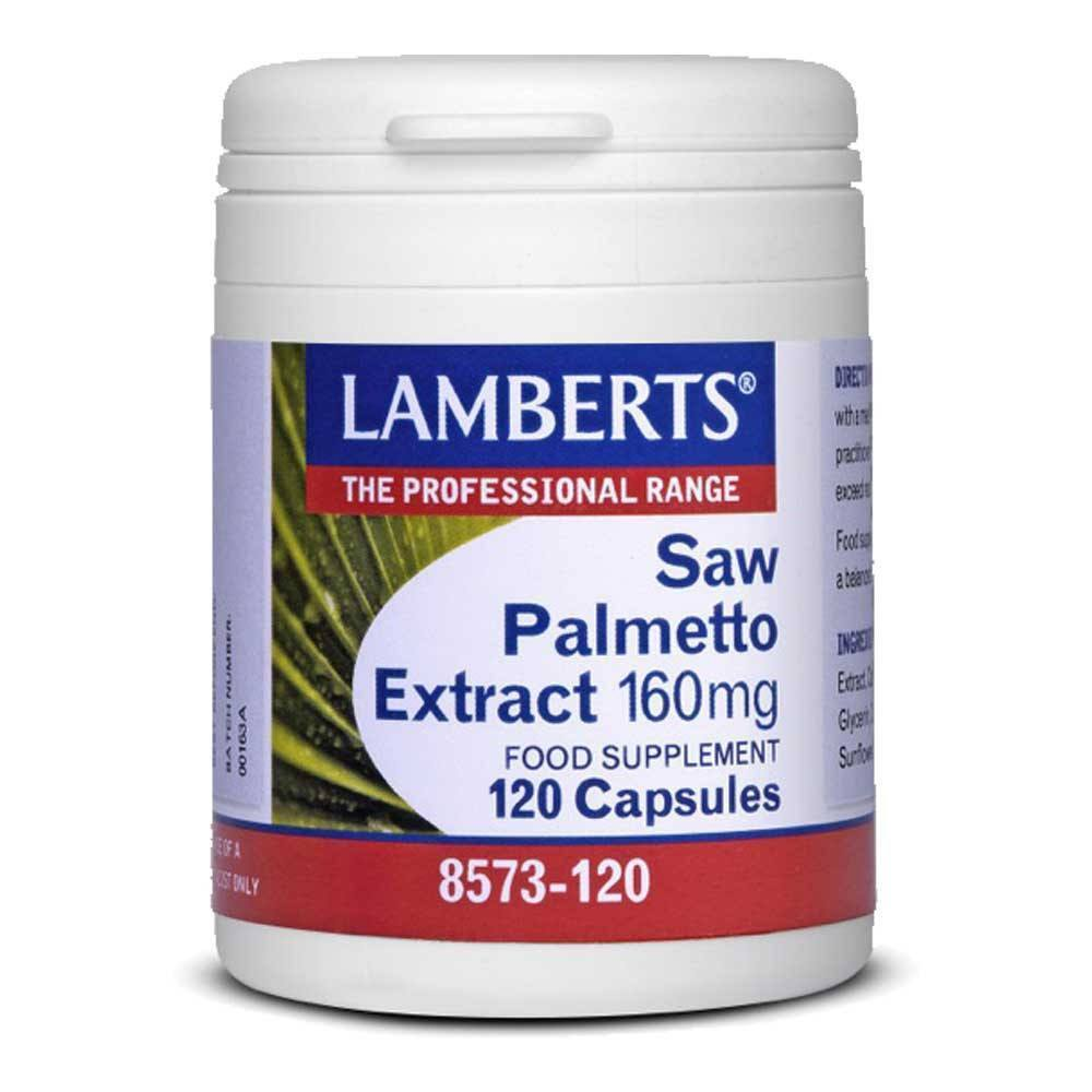 Lamberts Saw Palmetto Extract 160 mg 120 Capsules - Lifestyle Labs