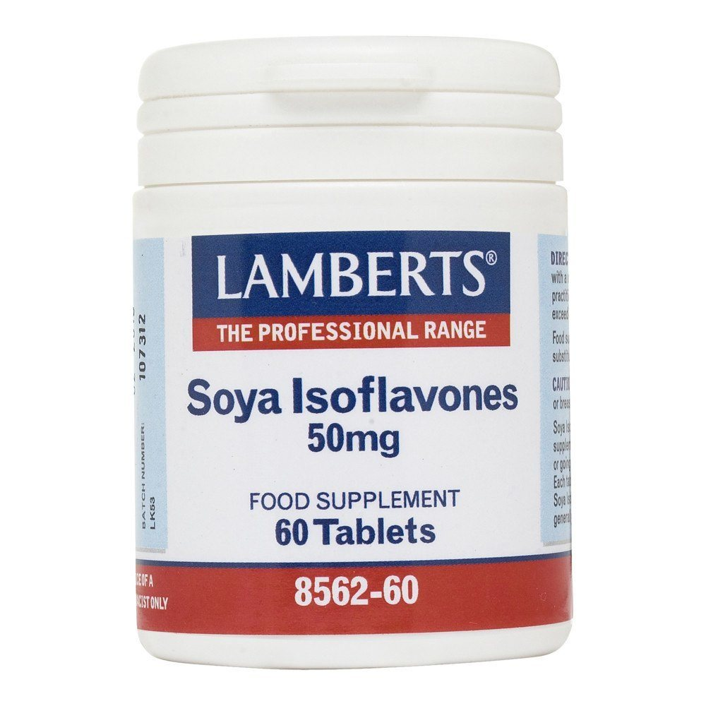 Lamberts Soya Isoflavones 50 mg 60 Tablets - Lifestyle Labs