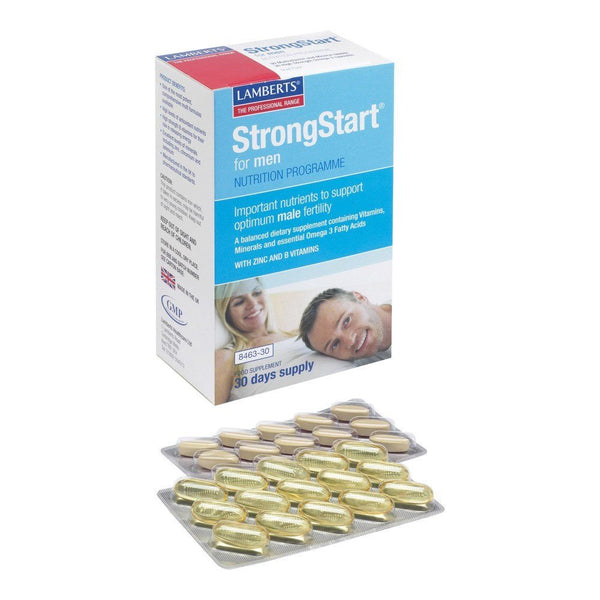 Lamberts StrongStart® for Men 30+30 Tablets - Lifestyle Labs