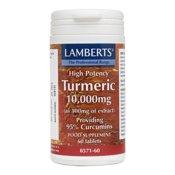 Lamberts Turmeric 10000 mg 60 Tablets - Lifestyle Labs