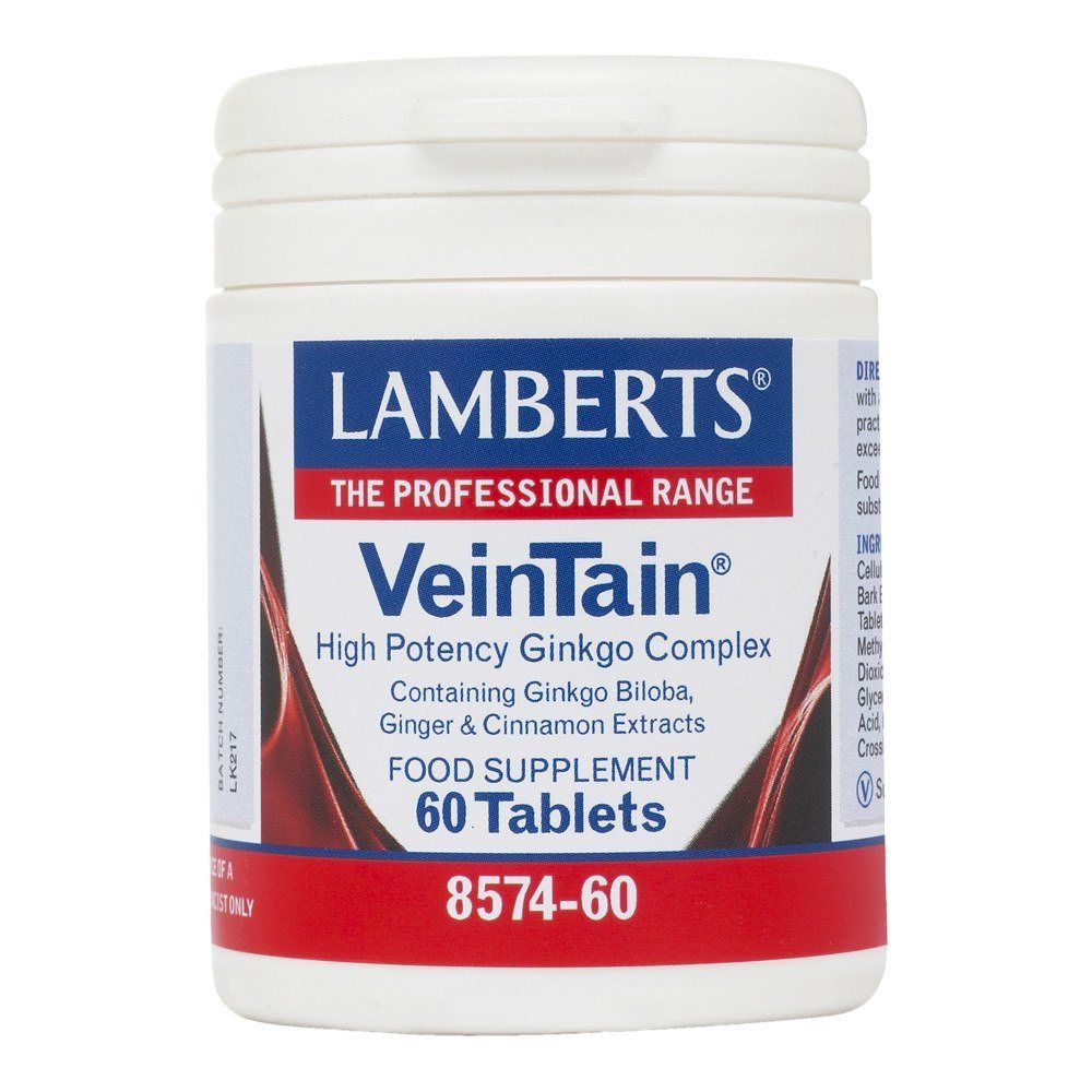 Lamberts VeinTain 60 Tablets - Lifestyle Labs