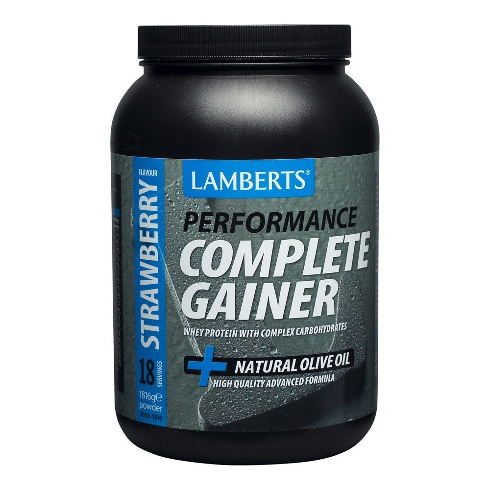 Lamberts Weight Gain Strawberry Flavour 1816 g Powder - Lifestyle Labs