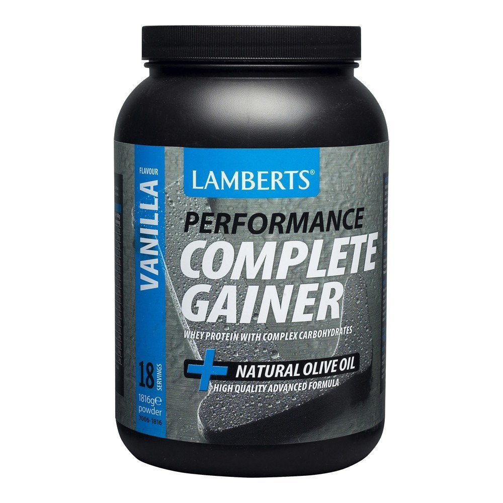 Lamberts Weight Gain Vanilla Flavour 1816 g Powder - Lifestyle Labs