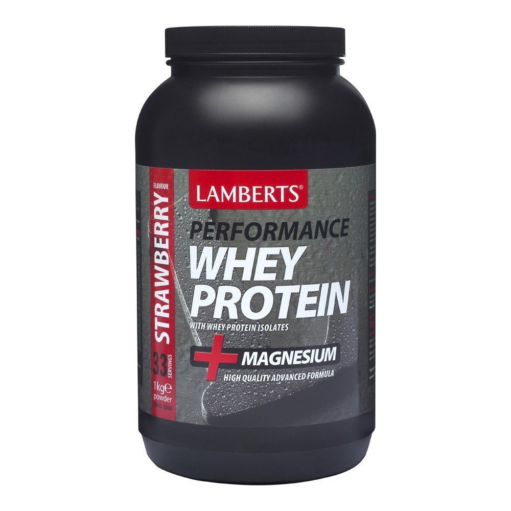 Lamberts Whey Protein Strawberry Flavour 1000 g Powder - Lifestyle Labs