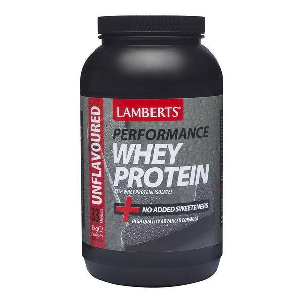 Lamberts Whey Protein Unflavoured 1000 g Powder - Lifestyle Labs