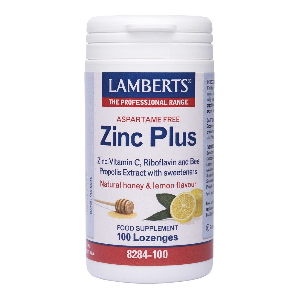 Lamberts Zinc Plus 100 Lozenges - Lifestyle Labs