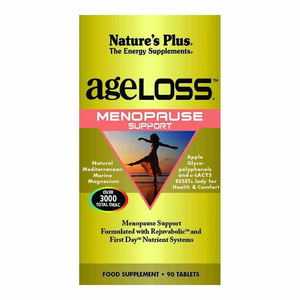Natures Plus Ageloss Menopause 90 Tablets - Lifestyle Labs